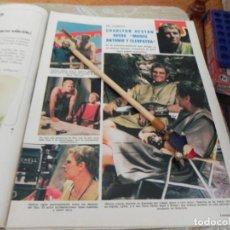 Coleccionismo de Revistas: RECORTE REVISTA LECTURAS Nº1003 AÑO 1971 / CHARLTON HESTON / CARMEN SEVILLA. Lote 195030690
