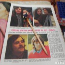 Coleccionismo de Revistas: RECORTE REVISTA LECTURAS Nº1003 AÑO 1971 / LEONARD WHITING. Lote 195030733