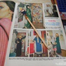 Coleccionismo de Revistas: RECORTE REVISTA LECTURAS Nº1003 AÑO 1971 / KARINA. Lote 195030836