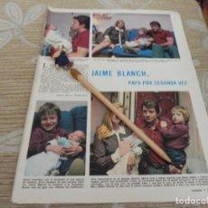 Coleccionismo de Revistas: RECORTE REVISTA LECTURAS Nº1003 AÑO 1971 / JAIME BLANCH. Lote 195030965