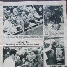 Coleccionismo de Revistas: RECORTE REVISTA LECTURAS Nº 893 1969 PAOLA DE LIEJA, MARISOL, MAJA INTERNACIONAL 1969 GILLIAN MILLER. Lote 195183902