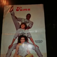 Coleccionismo de Revistas: POSTER FAMA DE LA REVISTA LECTURAS. Lote 195336350