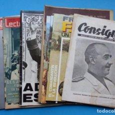Coleccionismo de Revistas: FRANCISCO FRANCO Y FAMILIA, 8 ANTIGUAS REVISTAS, AÑOS 1950-1960 Y 1970 - VER FOTOS ADICIONALES. Lote 195689418