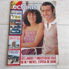 Coleccionismo de Revistas: LECTURAS 1509, AÑO 1981, QUINI, SERRAT, ETC... Lote 208662317