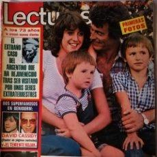 Coleccionismo de Revistas: REVISTA LECTURAS 1214 RAMIRO OLIVEROS KOJAK SARA MONTIEL LOS BRAVOS BRUNO LOMAS RINGO STARR RUMBA 3. Lote 196289620