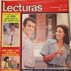 Colecionismo de Revistas: REVISTA LECTURAS Nº 1220 CONCHA VELASCO LIZ TAYLOR RAPHAEL ROMINA POWER CARMEN SEVILLA AGATA LYS. Lote 196292868