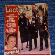 Coleccionismo de Revistas: VENDO REVISTA LECTURAS, 1/10/1982 (GRACE EN EL RECUERDO), VER MAS FOTOS.. Lote 197024372