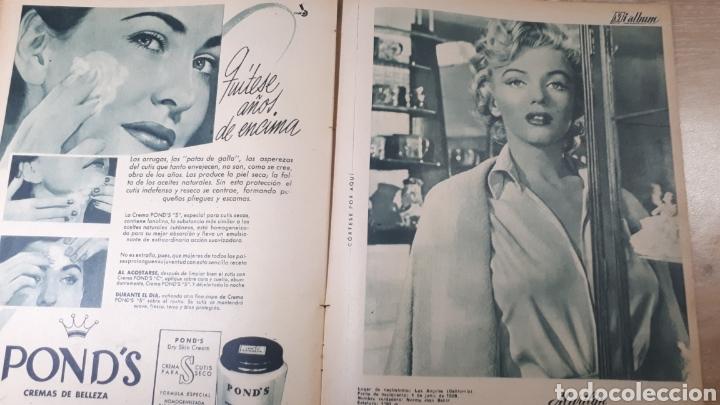 Coleccionismo de Revistas: REVISTA LECTURAS JUNIO DE 1954 CON EL CANTO REFORZADO CON CINTA VER FOTO DESGASTE DEL TIEMPO Y MARCA - Foto 3 - 197591756