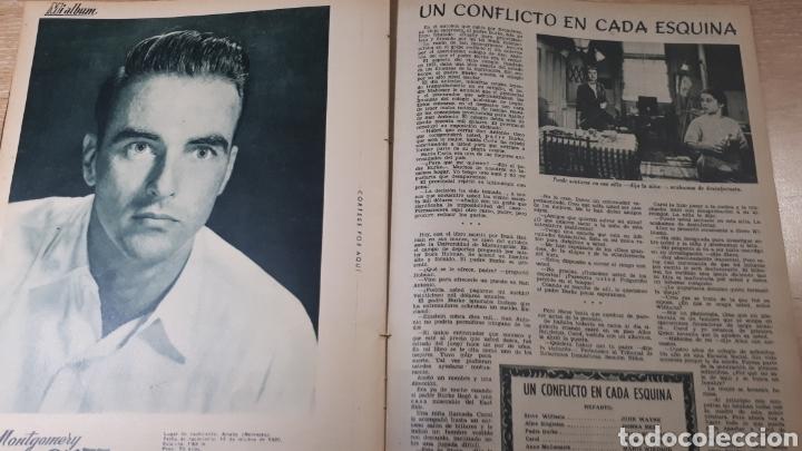 Coleccionismo de Revistas: REVISTA LECTURAS JUNIO DE 1954 CON EL CANTO REFORZADO CON CINTA VER FOTO DESGASTE DEL TIEMPO Y MARCA - Foto 4 - 197591756