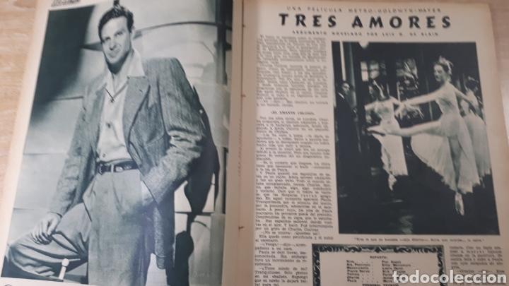 Coleccionismo de Revistas: REVISTA LECTURAS JULIO DE 1954 CON REFUERZO DE CINTA EN CANTO VER FOTOS DESGASTE DEL TIEMPO Y MARCAS - Foto 3 - 197591837