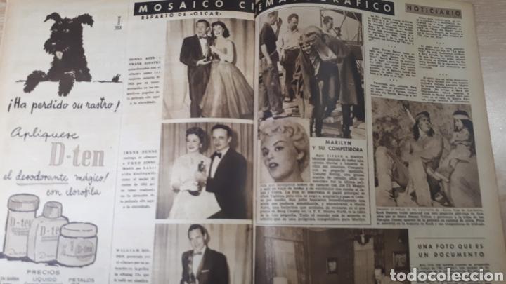 Coleccionismo de Revistas: REVISTA LECTURAS MAYO DE 1954 CON REFUERZO EN EÑ CANTO VER FOTOS DESGASTE DEL TIEMPO Y MARCAS PERFOR - Foto 3 - 197591942
