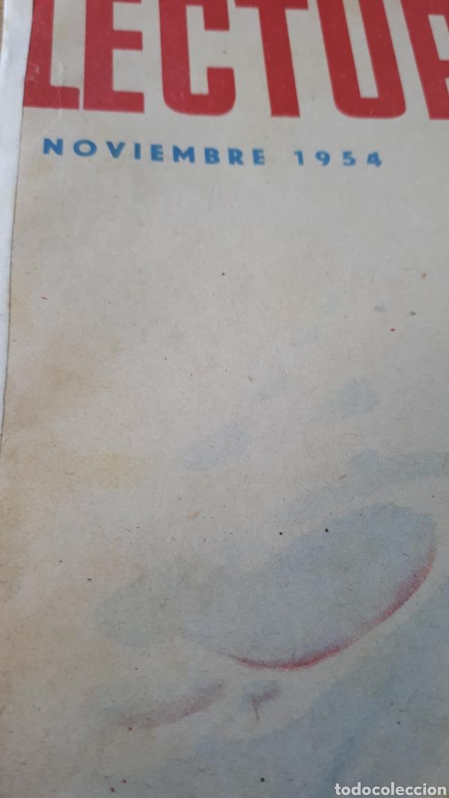 Coleccionismo de Revistas: REVISTA LECTURAS NOVIEMBRE DE 1954 CON CANTO REFORZADO VER FOTO - Foto 2 - 197649878