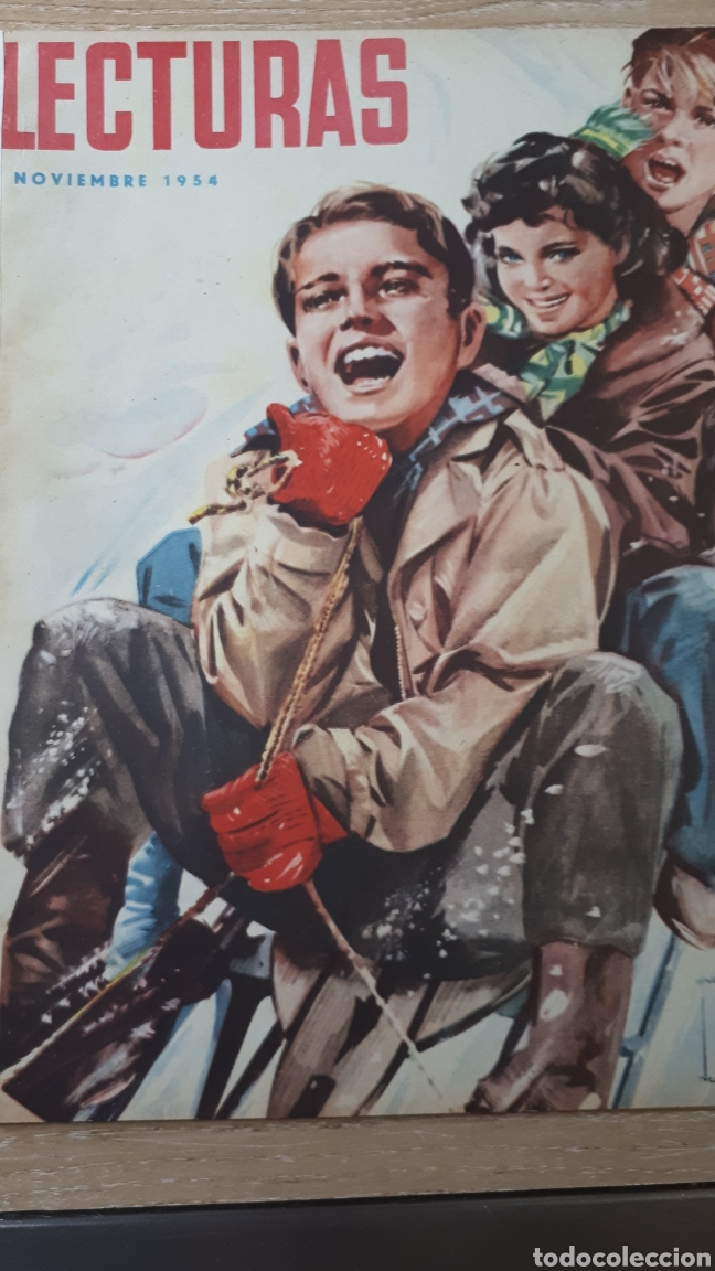 REVISTA LECTURAS NOVIEMBRE DE 1954 CON CANTO REFORZADO VER FOTO (Coleccionismo - Revistas y Periódicos Modernos (a partir de 1.940) - Revista Lecturas)