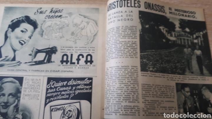 Coleccionismo de Revistas: REVISTA LECTURAS SEPTIEMBRE DE 1954 CANTO REFORZADO - Foto 3 - 197655461