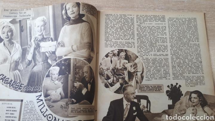 Coleccionismo de Revistas: REVISTA LECTURAS SEPTIEMBRE DE 1954 CANTO REFORZADO - Foto 4 - 197655461