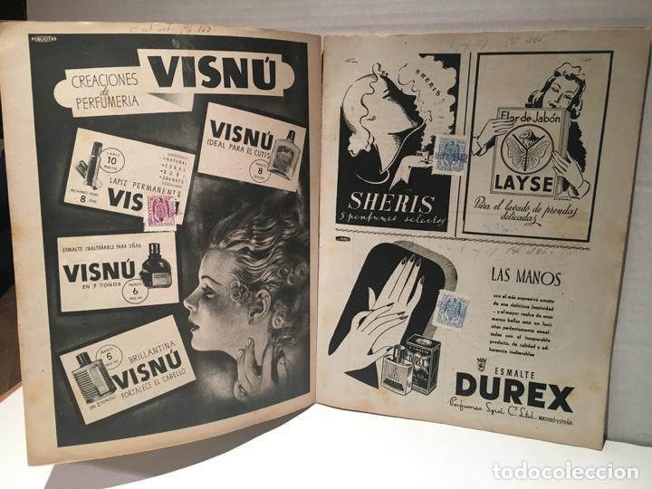 Coleccionismo de Revistas: ANTIGUA REVISTA LECTURAS AÑO 1942 - UNICA Y EXCLUSIVA - Foto 2 - 198295420