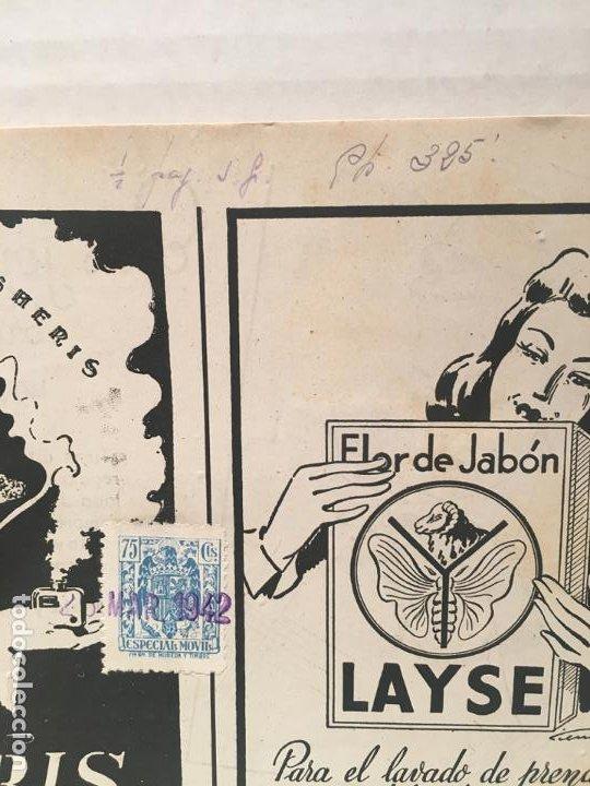 Coleccionismo de Revistas: ANTIGUA REVISTA LECTURAS AÑO 1942 - UNICA Y EXCLUSIVA - Foto 3 - 198295420