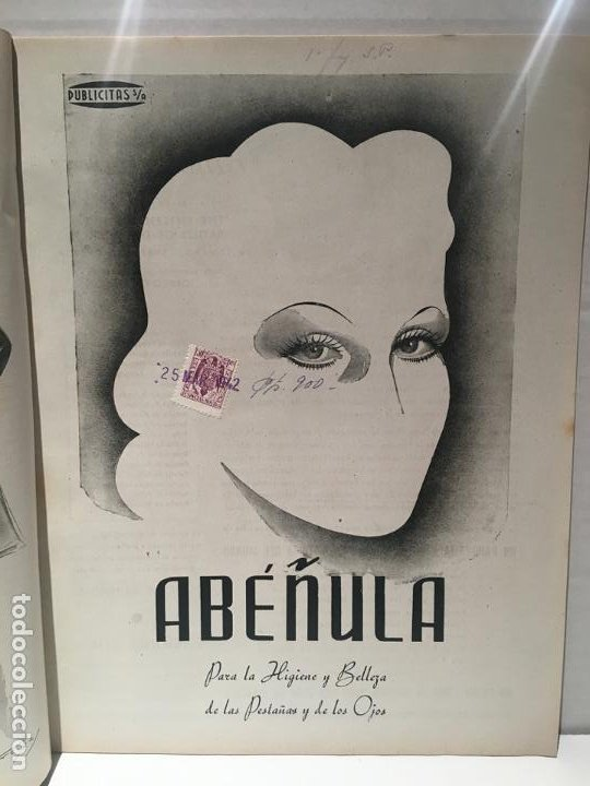 Coleccionismo de Revistas: ANTIGUA REVISTA LECTURAS AÑO 1942 - UNICA Y EXCLUSIVA - Foto 4 - 198295420