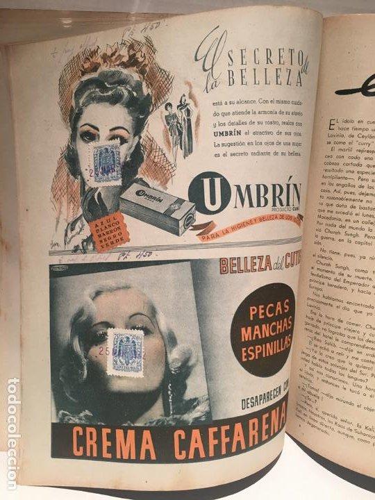 Coleccionismo de Revistas: ANTIGUA REVISTA LECTURAS AÑO 1942 - UNICA Y EXCLUSIVA - Foto 5 - 198295420