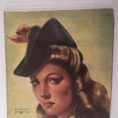 Coleccionismo de Revistas: ANTIGUA REVISTA LECTURAS AÑO 1942 - UNICA Y EXCLUSIVA. Lote 198295420
