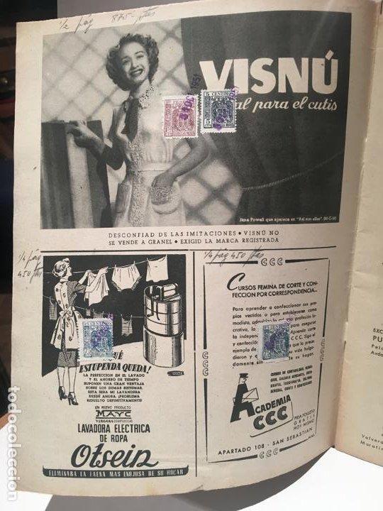 Coleccionismo de Revistas: ANTIGUA REVISTA LECTURAS AÑO 1951 - UNICA Y EXCLUSIVA - Foto 4 - 198296021