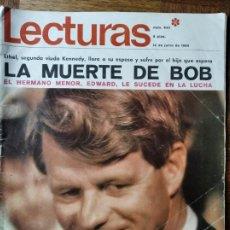 Coleccionismo de Revistas: LECTURAS Nº 843 D 1968- BOBBY KENNEDY- ROCIO DURCAL- DYANGO- MASSIEL- LOS BRAVOS- MIA FARROW LIZ TAY. Lote 198830956