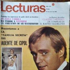 Coleccionismo de Revistas: LECTURAS Nº 844 DE 1968- AGENTE CIPOL- BOBBY KENNEDY- CLAUDIA CARDINALE- LOS BRAVOS GATOS NEGROS.... Lote 198832500