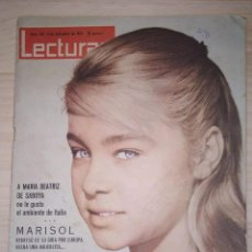Coleccionismo de Revistas: REVISTA LECTURAS. NUMERO 551 AÑO 1962. EN PORTADA MARISOL. . Lote 200194035