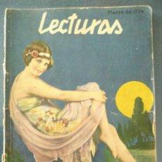 Coleccionismo de Revistas: REVISTA LECTURAS, MARZO DE 1930, MONTJUICH. Lote 201114618