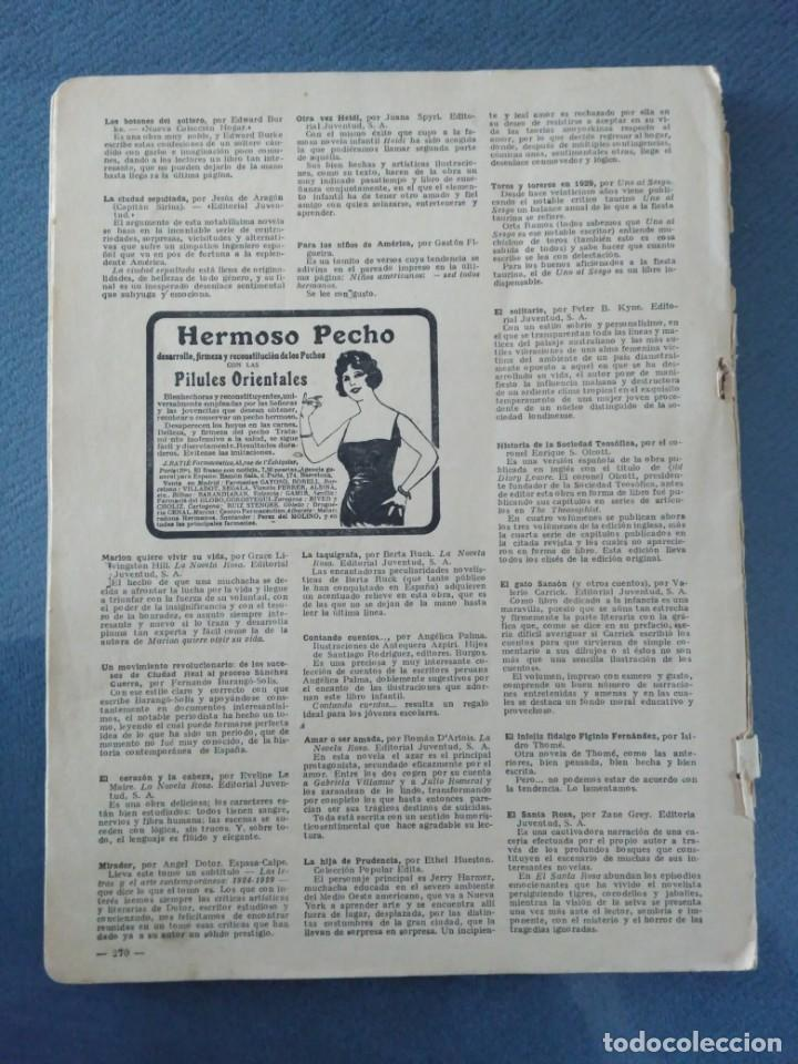 Coleccionismo de Revistas: Revista lecturas, Marzo de 1930, Montjuich - Foto 2 - 201114618