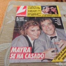 Coleccionismo de Revistas: LECTURAS-1987- Nº 1823 UN DOS TRES - MADONNA - VERANO AZUL - BRUCE SPRINGSTEEN - ALASKA - ORDOÑEZ. Lote 201757563