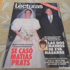 Coleccionismo de Revistas: LECTURAS Nº1670 AÑO 1984 - DAVID SOUL - MIGUEL RIOS - EVA NASARRE - TINA DE LAS GRECAS - PREYSLER - . Lote 201761485