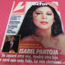 Coleccionismo de Revistas: REVISTA LECTURAS 1988 Nº1892 ISABEL PANTOJA - CHABELI - FLOR AGUILAR - MIRIAN AROCA - TYSON. Lote 201903837