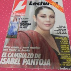 Coleccionismo de Revistas: REVISTA LECTURAS 1988 Nº1886 ISABEL PANTOJA - RICHARD GERE - REDFORD - SCHUSTER - LUCIA BOSE. Lote 201991715