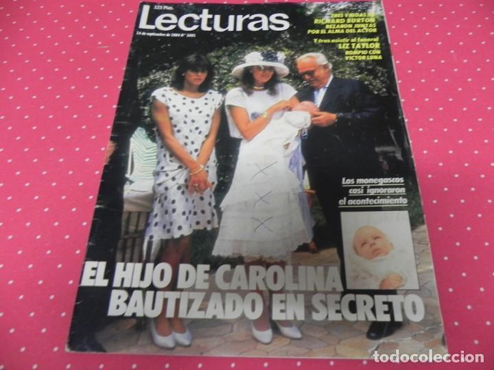 REVISTA LECTURAS 1984 Nº1691 LIZ TAYLOR - DALI - WILLIAN KATT - ISABEL PREYSLER - CAROLINA (Coleccionismo - Revistas y Periódicos Modernos (a partir de 1.940) - Revista Lecturas)