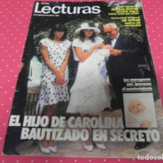 Coleccionismo de Revistas: REVISTA LECTURAS 1984 Nº1691 LIZ TAYLOR - DALI - WILLIAN KATT - ISABEL PREYSLER - CAROLINA. Lote 201995698