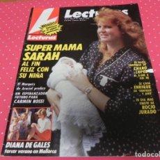 Coleccionismo de Revistas: REVISTA LECTURAS 1989 Nº1898 ENRIQUE Y ANA - LOLA FLORES - ISABEL PANTOJA - MICHAEL JACKSON -DIANA . Lote 201996037