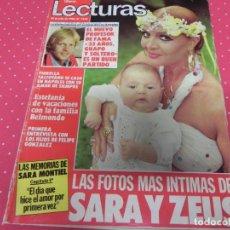 Coleccionismo de Revistas: REVISTA LECTURAS 1983 Nº1632 FAMA - MISS UNIVERSO - SARA MONTIEL - MARADONA - MARISOL - ROD STEWAR. Lote 201996698