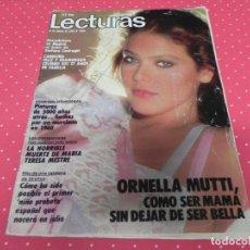 Coleccionismo de Revistas: REVISTA LECTURAS 1984 Nº1660 BEN CROSS - JOE ROSSI - TINA DE LAS GRECAS - MICHAEL JACKSON - SERRAT. Lote 202001165