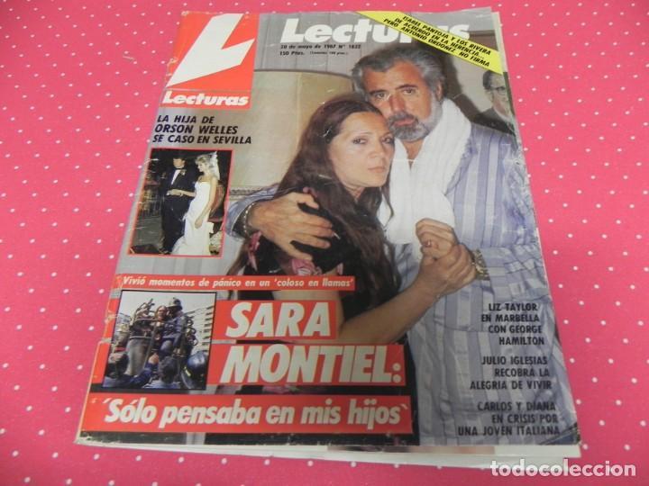 REVISTA LECTURAS 1989 Nº1832 SERRAT - ISABEL PANTOJA - LUCIA BOSE MIGUEL BOSE - JULIO IGLESIAS - (Coleccionismo - Revistas y Periódicos Modernos (a partir de 1.940) - Revista Lecturas)