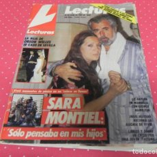 Coleccionismo de Revistas: REVISTA LECTURAS 1989 Nº1832 SERRAT - ISABEL PANTOJA - LUCIA BOSE MIGUEL BOSE - JULIO IGLESIAS - . Lote 202001760