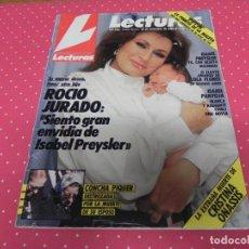Coleccionismo de Revistas: REVISTA LECTURAS 1988 Nº1912 ISABEL PREYSLER - ISABEL PANTOJA - LOLA FLORES - JULIO IGLESIAS JUNIOR. Lote 202004110