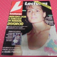 Coleccionismo de Revistas: REVISTA LECTURAS 1985 Nº1734 ISABEL PANTOJA - MIGUEL BOSE - CAMILO SESTO - BRUCE SPRINGSTEEN. Lote 202006367