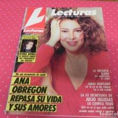 Coleccionismo de Revistas: REVISTA LECTURAS 1988 Nº1865 FARI - JUAN PARDO - MIGUEL BOSE - JULIO IGLESIAS - ANA BELEN - CHABELI. Lote 202110370