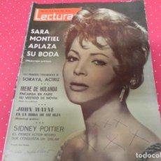 Coleccionismo de Revistas: REVISTA LECTURAS 1964 Nº627 SORAYA - LESLIE CARON - LUCIA BOSE Y SUS HIJOS - KARINA. Lote 202111860