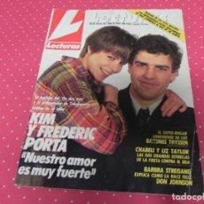 Coleccionismo de Revistas: REVISTA LECTURAS 1988 Nº1877 KIM UN DOS TRES - MARISOL - SANCHO GRACIA - TOREROS MUERTOS - CHABELI. Lote 202112896
