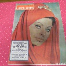 Coleccionismo de Revistas: REVISTA LECTURAS 1965 Nº680 SOFIA LOREN - LA BEGUM - FARAH DIBA - JEANNE MOREAU. Lote 202261186