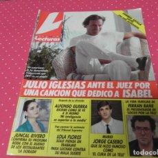 Coleccionismo de Revistas: REVISTA LECTURAS 1991 Nº2025 JULIO IGLESIAS - XUXA - ISABEL PANTOJA - PABLO CALVO - MISS EUROPA - . Lote 202447770