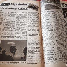 Coleccionismo de Revistas: PRIMER CONGRESO MEDITERRÁNEO DE UFOLOGÍA .LOS OVNIS ESPAÑOLES. Lote 203060670
