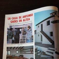 Coleccionismo de Revistas: LA CASA DE MARISOL EN ALTEA. Lote 203082555